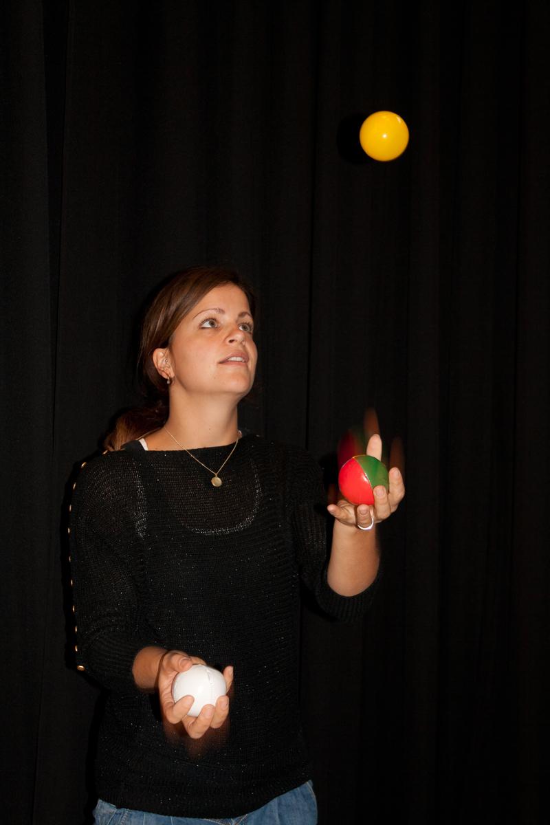 op maat: jongleren voor volwassenen