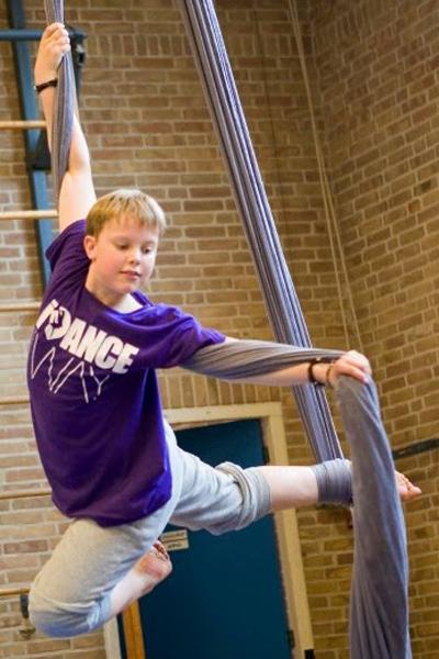 wekelijkse lessen: trapeze